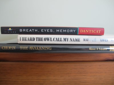 My book spine haiku.