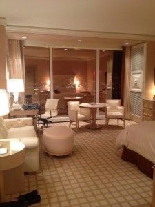 With one last look at you: Fare thee well, Wynn Vegas hotel room!