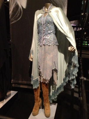 One of Stevie Nicks' many signature outfits.