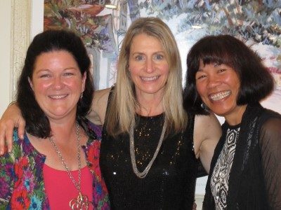 31-year college friendship from UC Davis: Susie, Susan, and me.