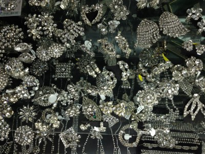 There no such thing as too much vintage rhinestone.