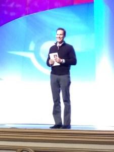 Shawn Achor's opening keynote.