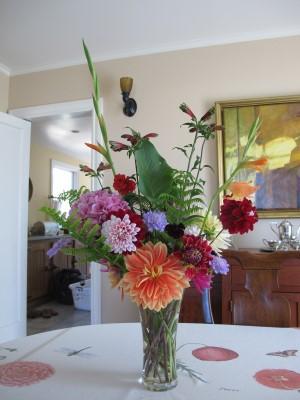 A mid-June bouquet.