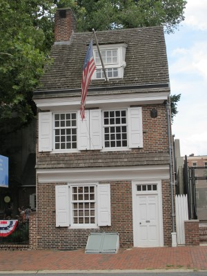 Betsy Ross's house.