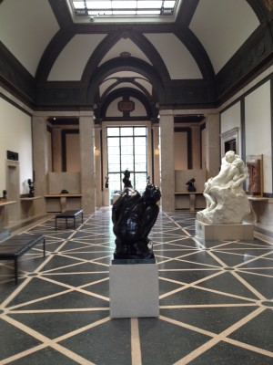 The main gallery shows off the museum's Beaux-Arts architecture.