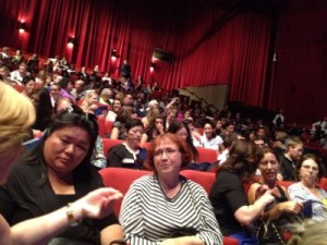 A full house attended the premiere!