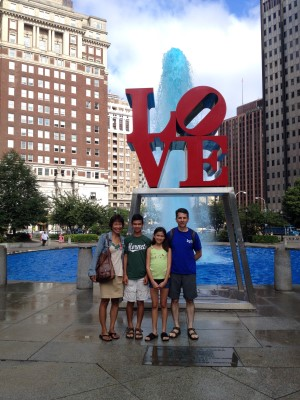 City of Brotherly Love, Philadelphia, August 2014.