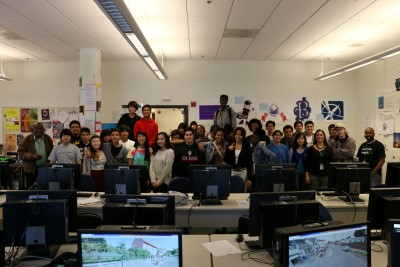 Melody's students in the ITA at El Cerrito High School.