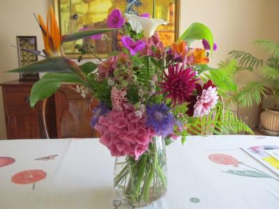 The middle school auction bouquet!
