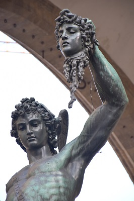 Perseus with the Head of Medusa by Cellini (1554).
