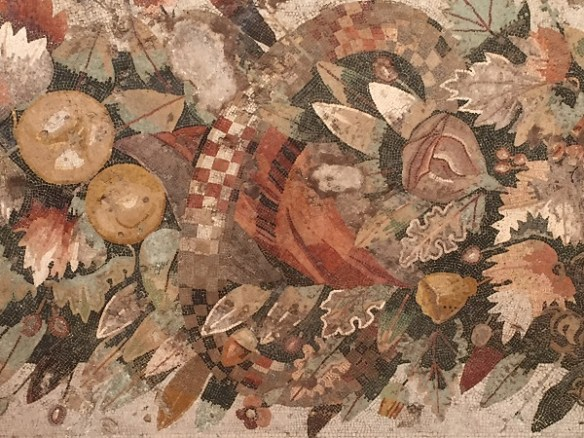 Another close-up of a mosaic.