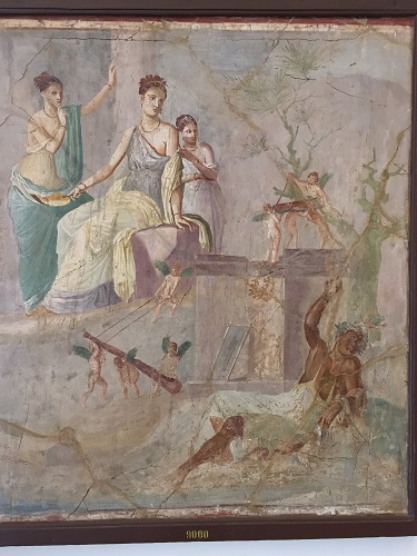 Another well-preserved fresco.