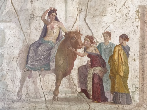 Detail from a fresco.