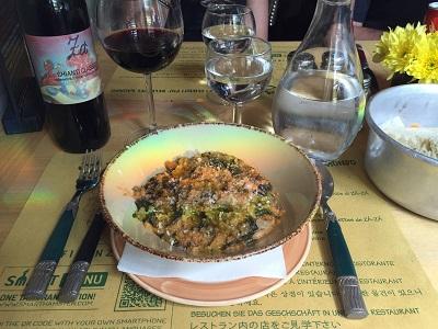 Tuscan ribollita!
