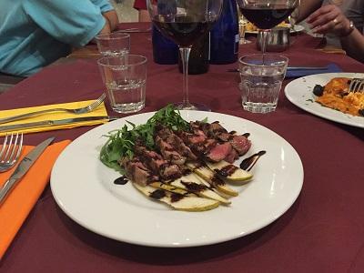 Florentine bistecca.