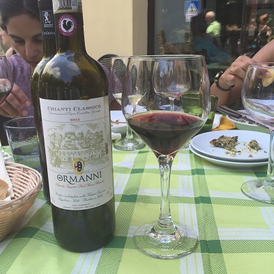 Third wine tasting - Chianti.