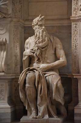 Seeing Michelangelo's Moses the second time around is not any less impressive than seeing it for the first time.