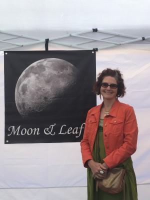 Talented jewelry designer and Harding Elementary School mom Kristen Satzman of Moon & Leaf.