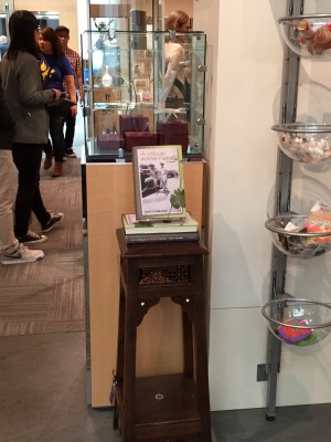 My books at the entrance of the Asian Art Museum shop.