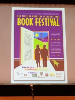 Book festival poster.