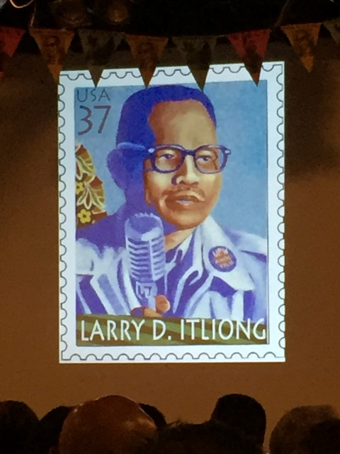 Honoring Larry Itliong.