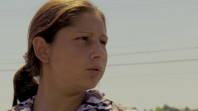 A pensive Mihaela.