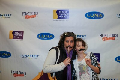 Artist Lauren Ari and her daughter make LUNAFEST an annual mother/daughter tradition.
