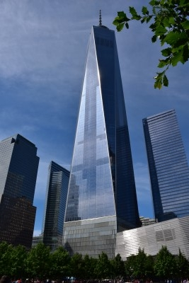 The new World Trade Tower (photo by David).