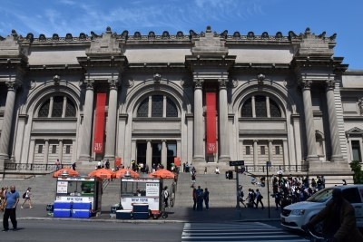 Entrance to the Met (photo by David).