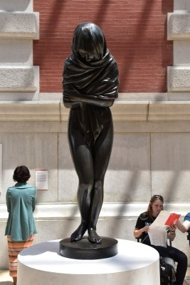 Winter (bronze) by Jean Antoine Houdon, 1787 (photo by David).