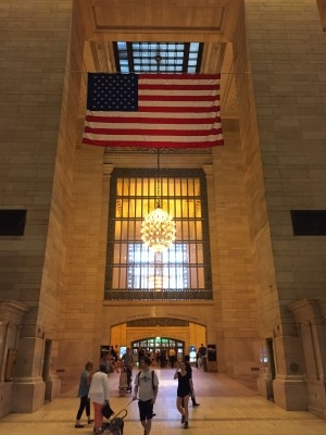 Photo op at Grand Central Terminal.