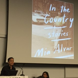 Acclaimed author Mia Alvar.