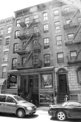 David's black-and-white version of 97 Orchard Street.