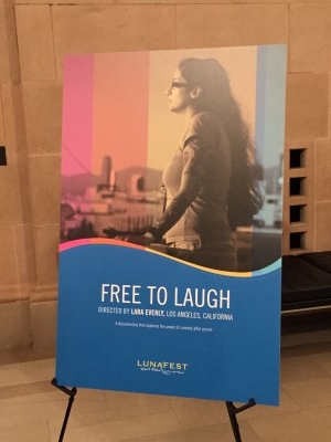 Free to Laugh film poster.