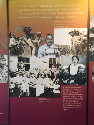 This pictorial timeline tells the story of the Filipinos in the United States.