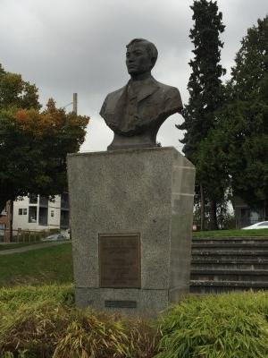Bust of Jose Rizal.
