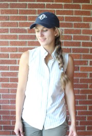 baseball hat hairstyles dress