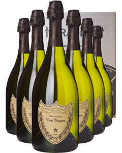 Dom Pérignon 2006 Six Bottle Champagne Gift 6 x 75cl Bottles