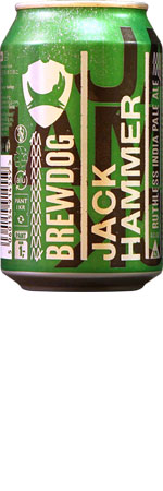 Jack hammer Ruthless IPA 6 x 330ml Cans