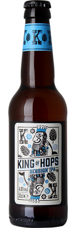 King of Hops Session IPA 6 x 330ml Bottles