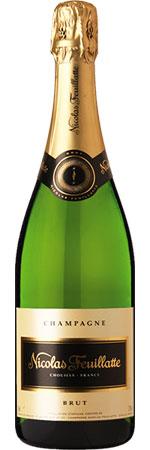 Nicolas Feuillatte Single Bottle Champagne Gift