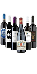 Simply Sensational Reds Mixed Case - Case of 6