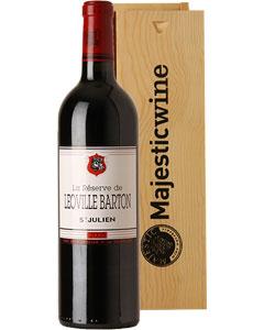 La Réserve de Léoville-Barton Single Bottle Wine Gift in Wood