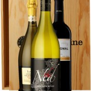 Majestic Favourites Three Bottle Wine Gift in Wood 3 x 75cl Bottles