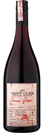 Saint Clair Pioneer Block Pinot Noir 2015