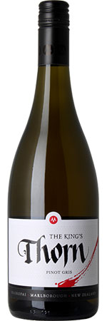 The King's Thorn Pinot Gris 2015