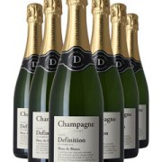 Definition Champagne Six Bottle Champagne Gift 6 x 75cl Bottles