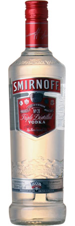 Smirnoff Red Label Vodka NV 70cl