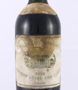 1922 Chateau Margaux 1922 1er Grand Cru Classe Margaux