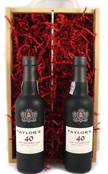 1937 Taylor Fladgate 80 years of Port (2 X 35cl)